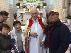 kevin lim pilgrimage tours singapore holy land